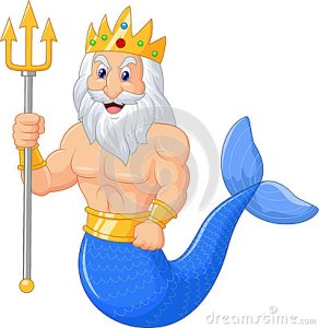 poseidon-cartoon-illustration-isolated-white-45759082